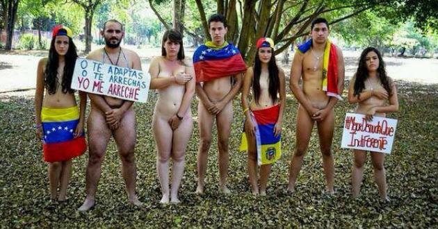 Resultado de imagen para NUDISMO EN VENEZUELA