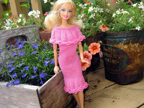 Isabella's Barbie Dress
