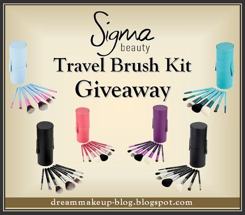 Sigma Travel Brush Kit Giveaway