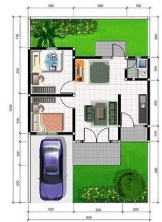 Denah Rumah Type 36/60 : Desain Rumah Minimalis Type 36 ...