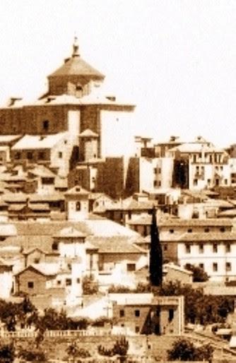 Iglesia de San Bartolomé a principios del siglo XX