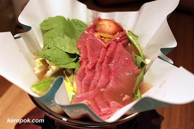 Beef Paper Hot Pot