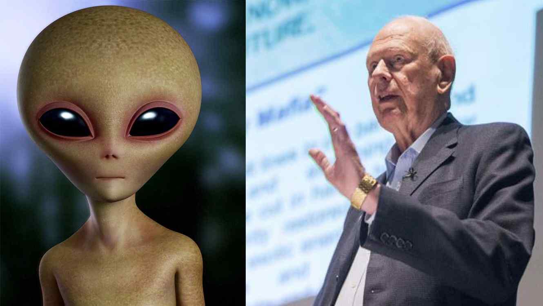 Paul Hellyer y alien