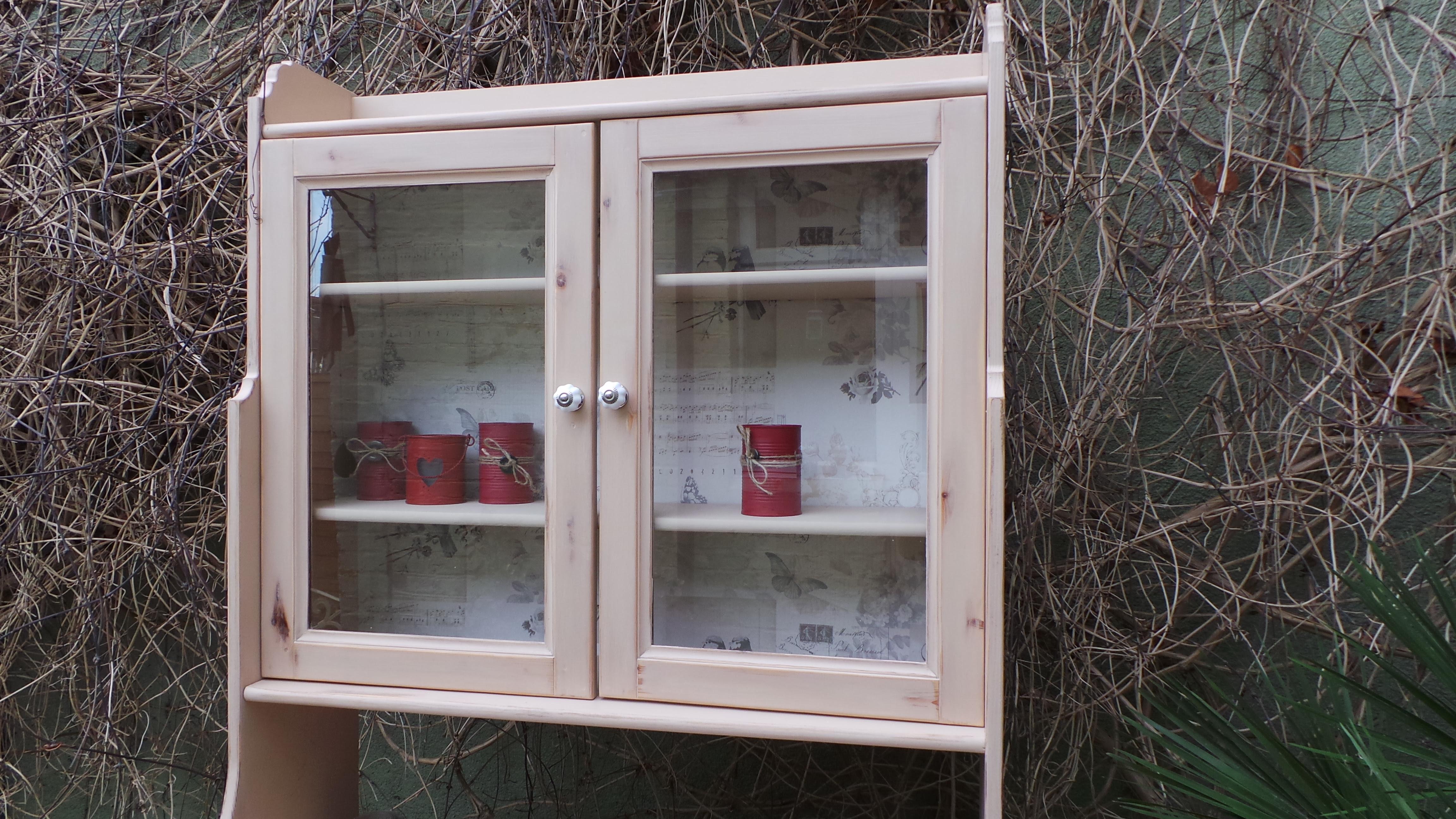 Refurbished Antique Kitchen Cabinet