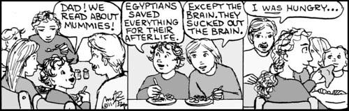 Home Spun comic strip #664