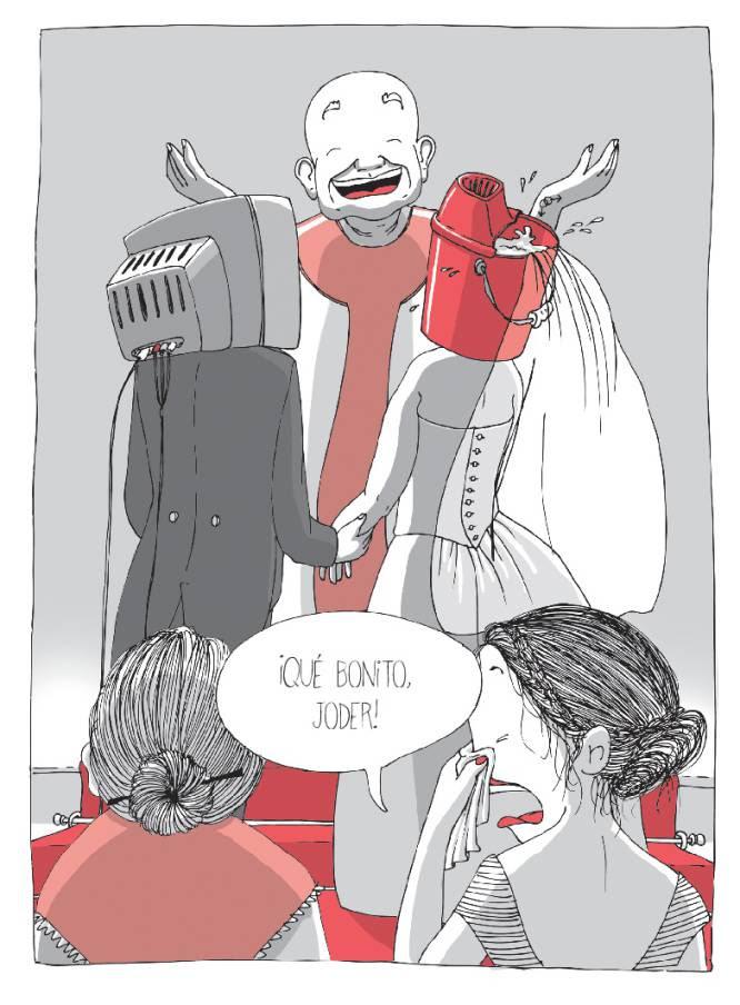 Ilustración de Raquel Riba Rossy para su novela gráfica 'Más vale Lola que mal acompañada'.