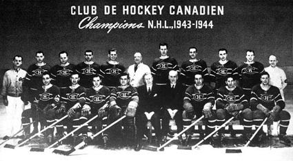 1943-44 Montreal Canadiens team, 1943-44 Montreal Canadiens team