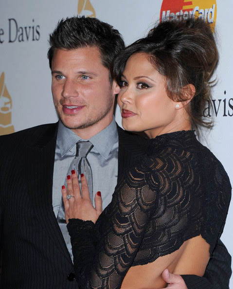 Nick Lachey - Clive Davis 2011 Pre-GRAMMY Party