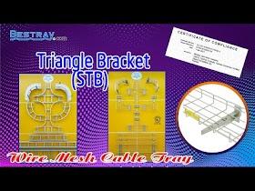 Bestray | Máng Cáp Dạng Lưới | Hệ Giá Đỡ | Tay Đỡ Kiểu tam giác STB