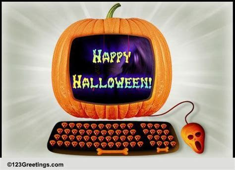 Happy Halloween Wishes! Free At Work Fun eCards, Greeting