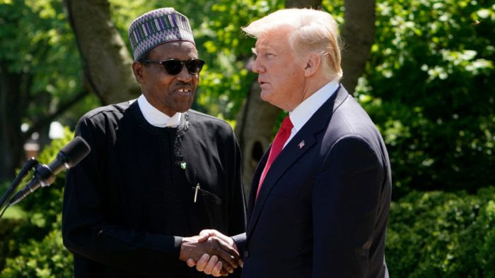 Buhari Is Lifeless: US Embassy Silent On Trump's Comment