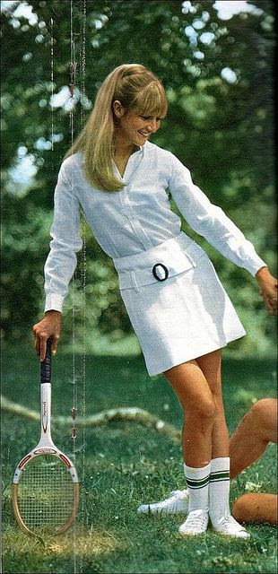 1966 tennis fashion
