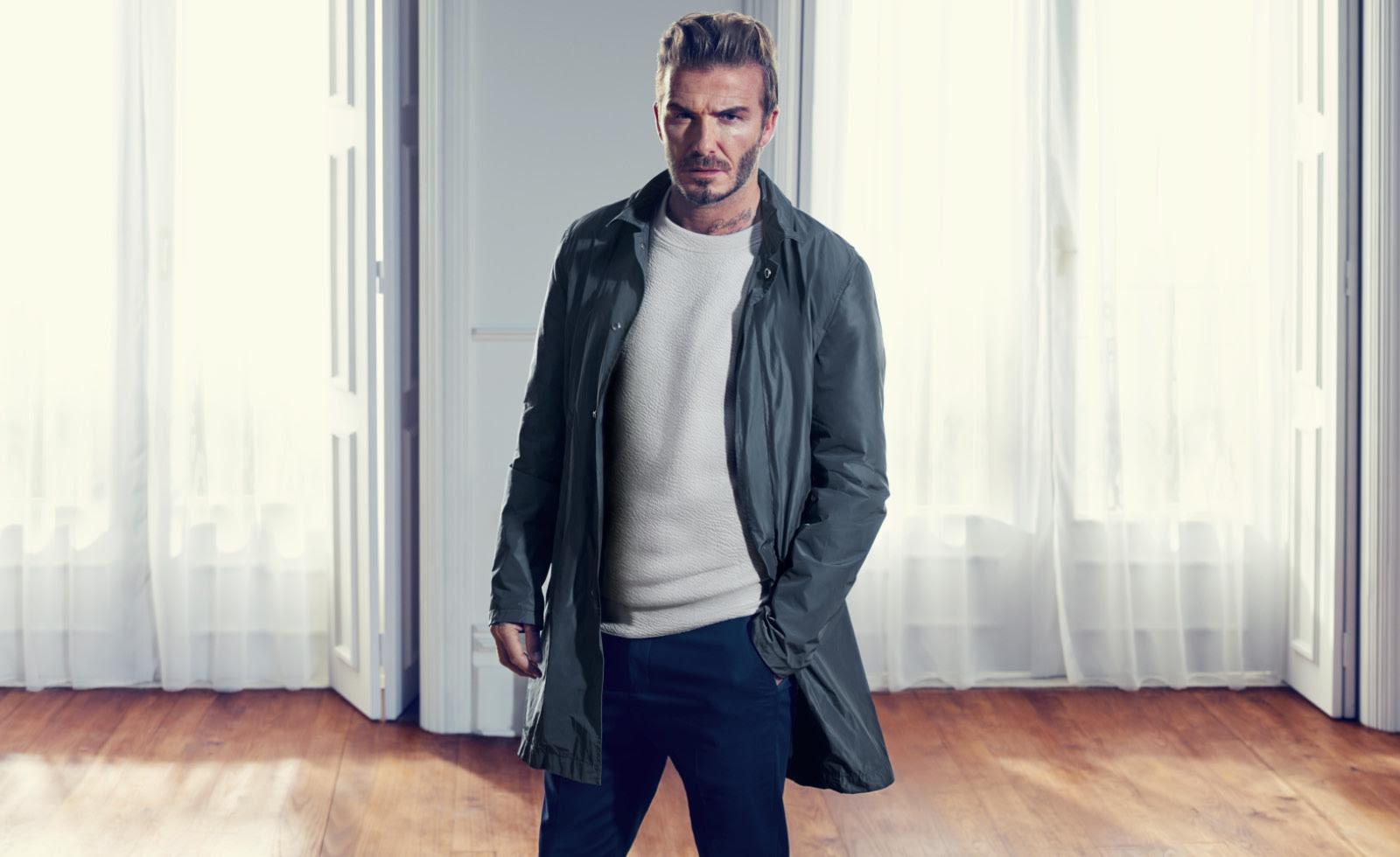 David Beckham - The Knitted Sweater