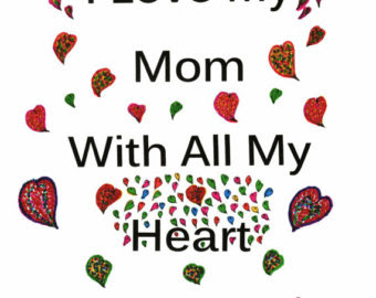 Best I Love My Mommy Images