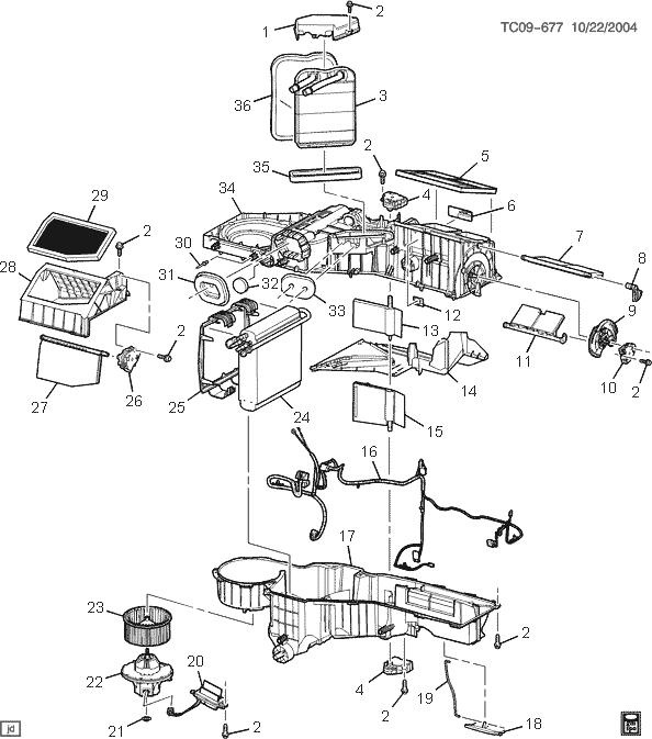 29 2005 chevy tahoe parts diagram