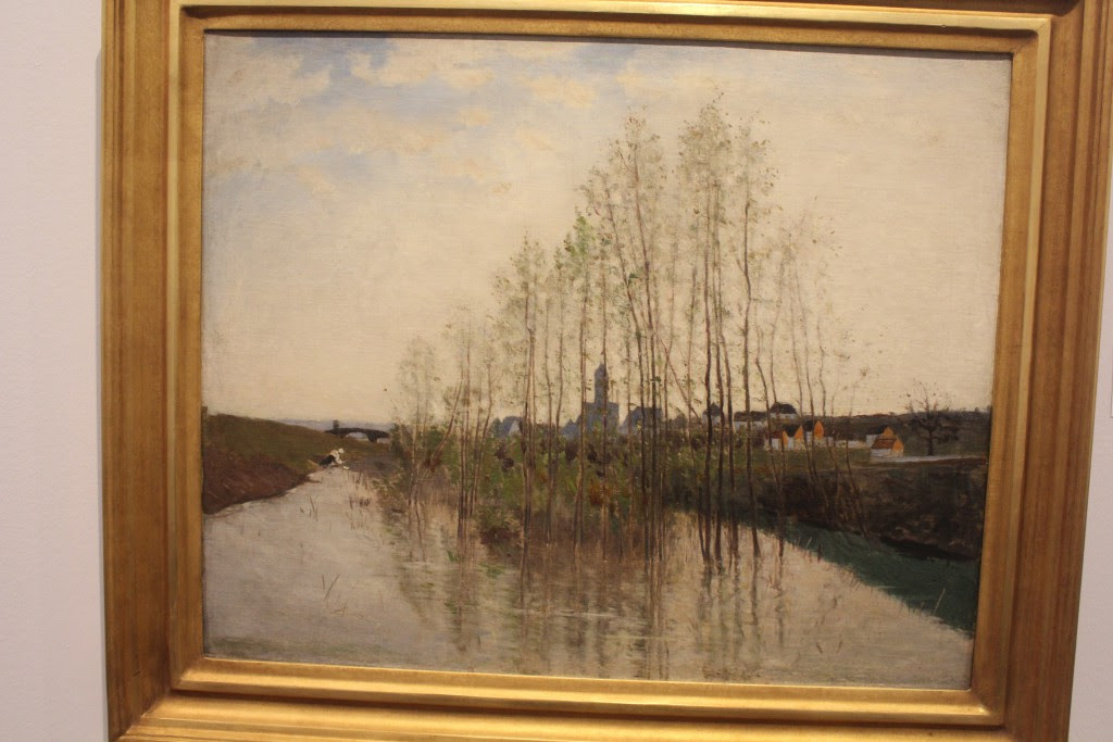 Carl Fredrik Hill:Flodlandskab 2,Champag