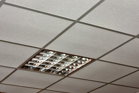 Installing A Drop Ceiling In A Basement Laundry Hgtv Light Kit Included Ceiling Fans