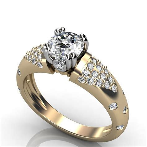 Female Diamond Rings   Wedding, Promise, Diamond