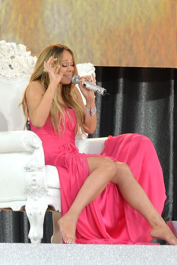 Mariah Carey (Foto: Agência AFP)