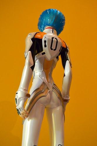Ayanami Rei Clear Plugsuit figure - E2046.
