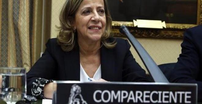 La actual tesorera del PP, Carmen Navarro, es una de las procesadas / EFE