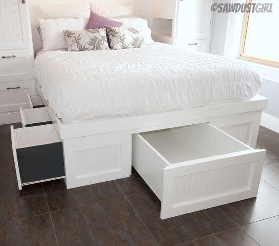 DIY Storage Beds • The Budget Decorator