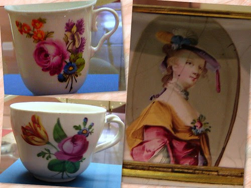 antique cups