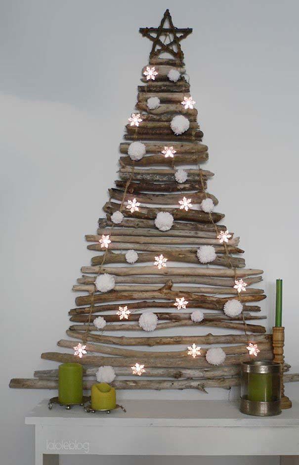 DIY Χριστουγεννιάτικα δέντρα (24)