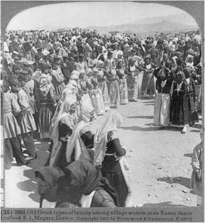 Πασχα στα Μεγαρα - 1907