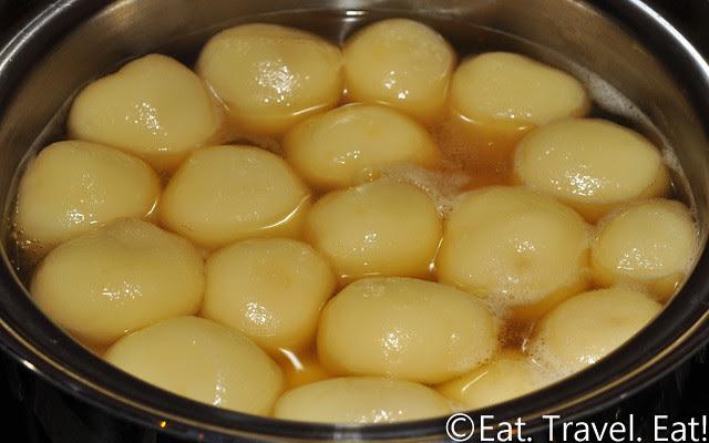 Ginger and Brown Sugar Glutinous Rice Balls
