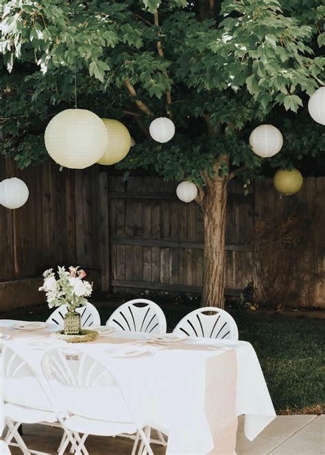 Kara's Party Ideas Backyard Garden Baptism   Kara's Party
