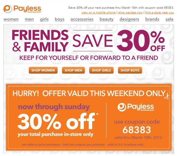 Payless Shoes Printable Coupons April 2018 Gamefly Coupons
