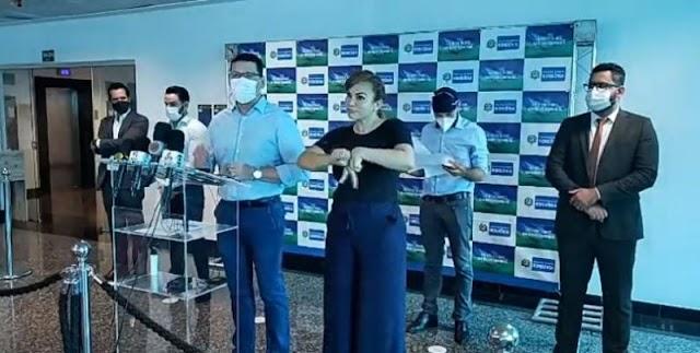 Governo cobra ação de prefeituras em fiscalizações e anuncia que vai regularizar multa para quem não usar máscaras; veja o vídeo