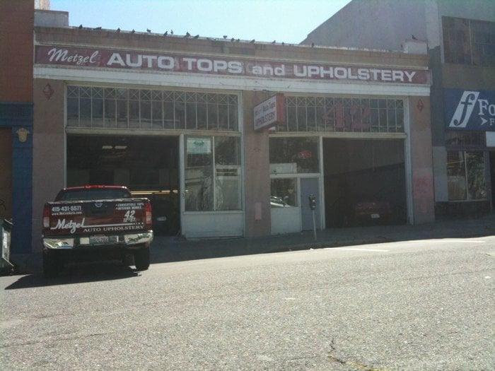 Metzel Auto Upholstery - Auto Repair - San Francisco, CA ...