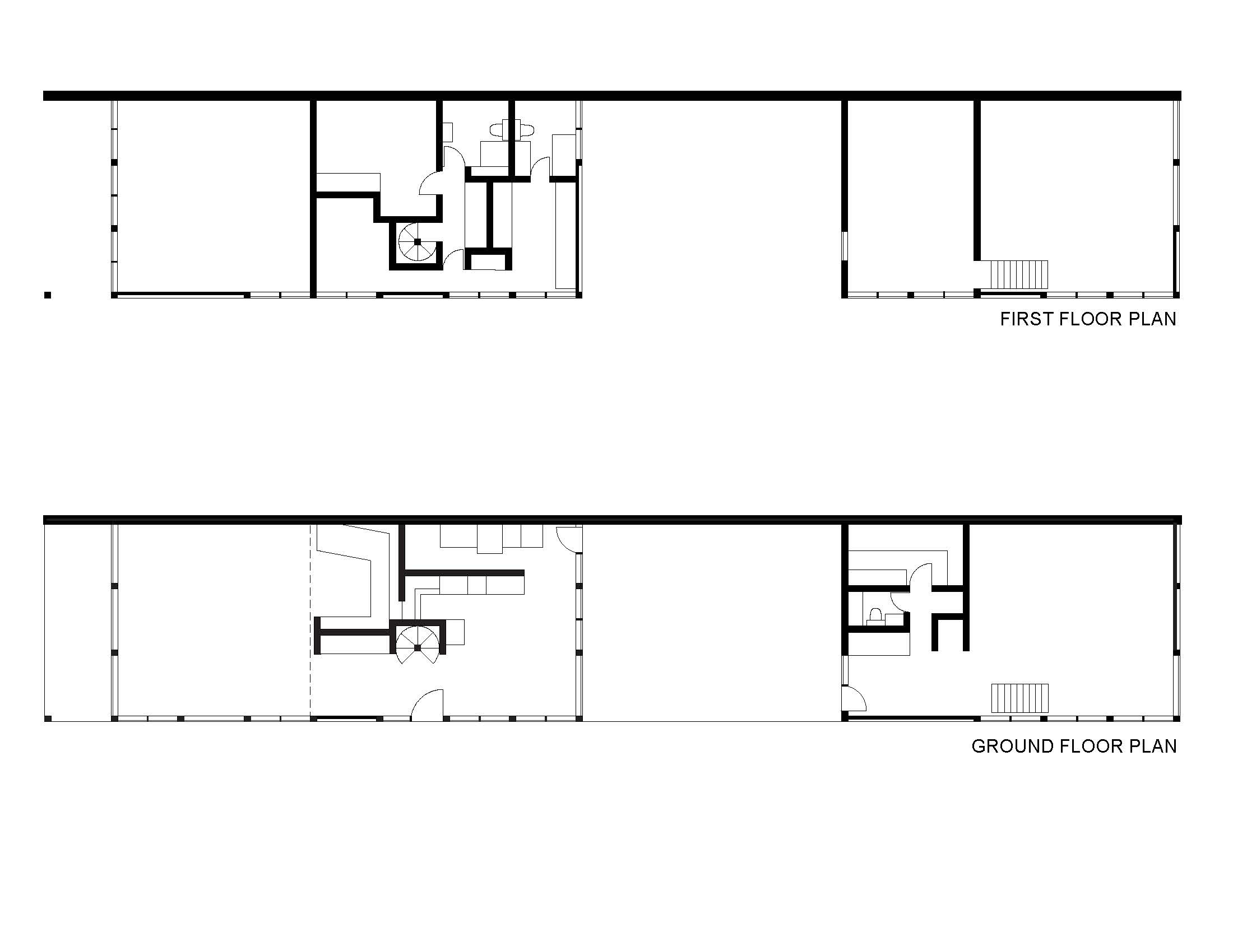 Eames House Plans Sections And Elevations