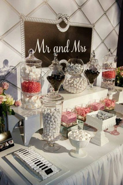 25 Candy Bar Ideas For Your Wedding21   wedding in 2019