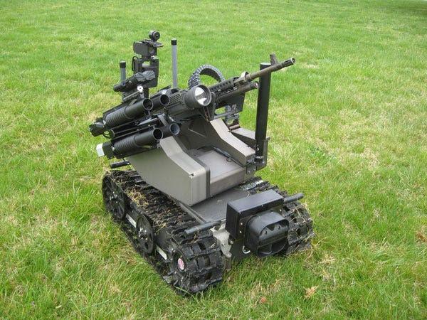 MAARS Robot (Modular Advanced Armed Robotic System)