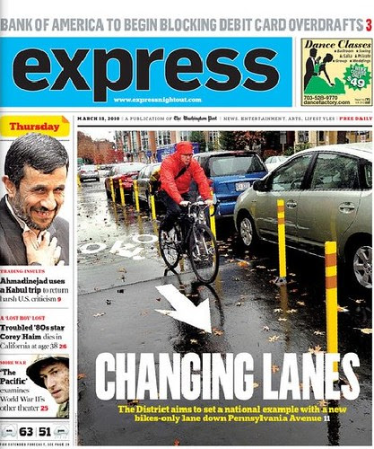 Cycle track cover image, Express, 3/11/2010