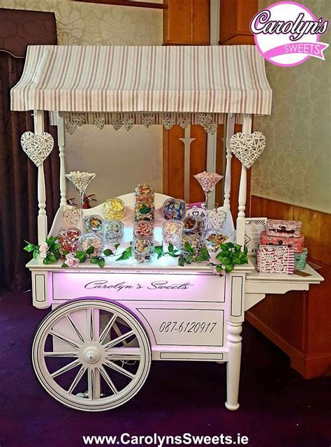 Luxury Candy Cart Hire by Carolyn's Sweets. Prices from ?175