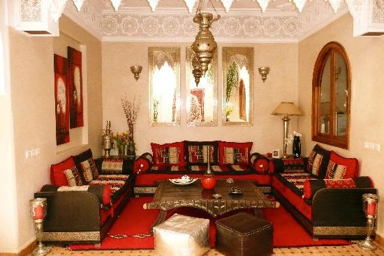 Déco à l'étage - Picture of Riad Dar ATTIKA, Marrakech - TripAdvisor