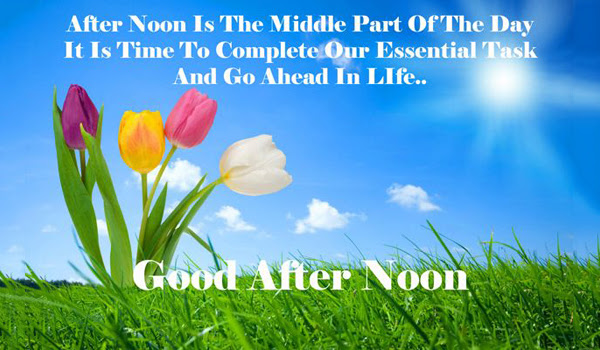 Motivational Good Afternoon Quotes