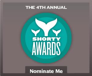 Nominate Kelli Russell Agodon for a social media award in the Shorty Awards!