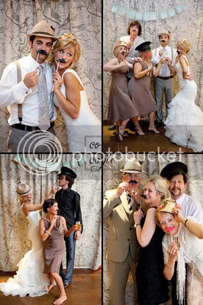 Crest Center Wedding with photobooth