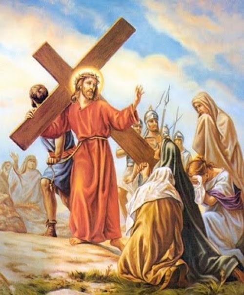 Resultado de imagen de Comentario del JESÚS CONSUELA A LAS HIJAS DE JERUSALÉN.