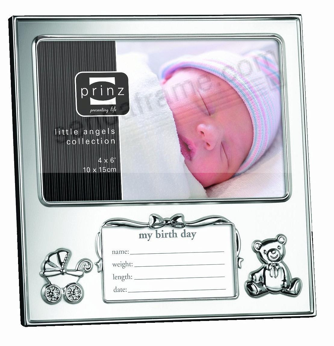 Just Arrived Newborn Birth Record Frame By Prinz Picture Frames