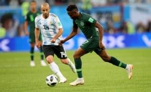 Faltou objetividade: Nigéria eliminada da Copa