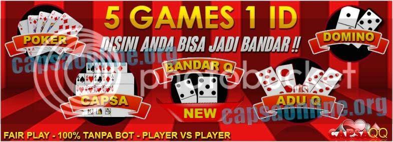 CapsaQQ Agen Domino Kiu Kiu Poker dan Capsa Susun Online