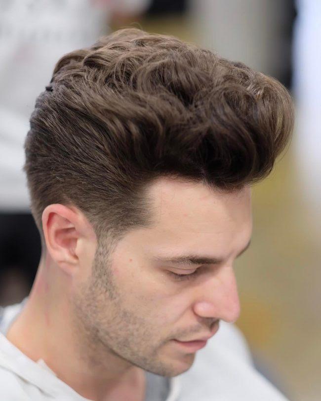 Men S Haircut No Fade