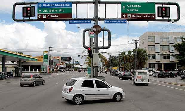 Foram testados os dois percursos  / Foto: Guga Matos/ JC Imagem