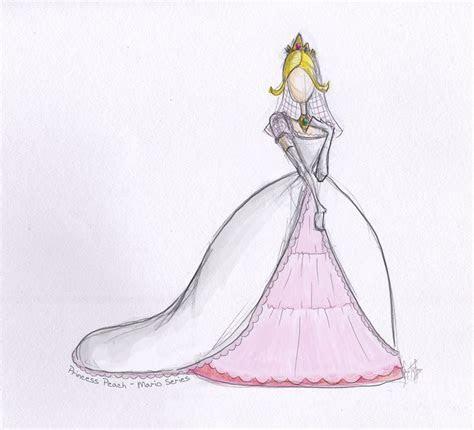 Princess Peach Wedding Dress by nhathy on DeviantArt